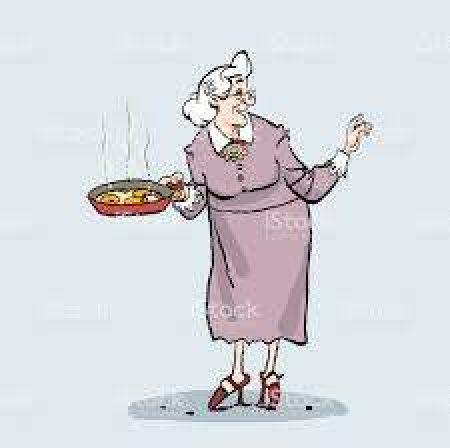 April 2020: Grootmoeders tijd